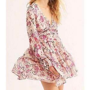 Free People Closer to the Heart Floral Mini NWT